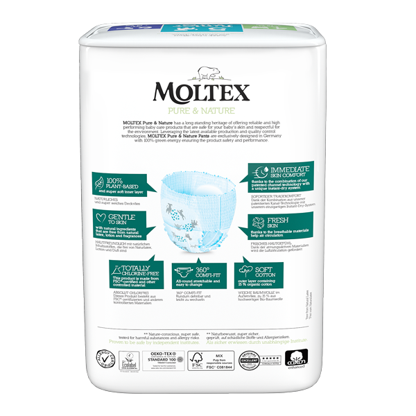 Moltex Baby Pants Junior 11 and 25 kg