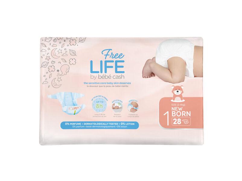 Freelife Bébé cash Newborn 1