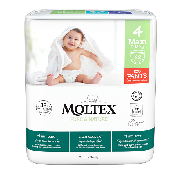 Moltex Baby Pants Maxi 7 and 18 kg